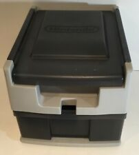 Official Nintendo Wheel Cart STORAGE Plastic Drawer NES SNES System And Games