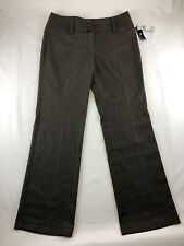 NWT~ Iz Byer California Women's Size 13 Brown Dress Pants Stretchy