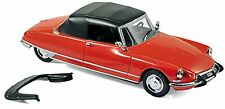 Citroen DS 19 Cabriolet 1965 corail red rot 1:43
