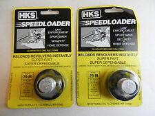 HKS Speedloader;  29-M;  6-Shot;  2 Pack;  44 Spec, 44 Mag;  Fast & Dependable