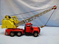 Vintage Corgi Major 1154 Mack Priestman Mobile Crane Truck Lorry Diecast Toy