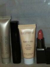 New Laura Mercier PRIMER+MASCARA+FACE POLISH+LIPSTICK, ALL TRAVEL SIZE, 4 PCS SE