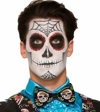 Day of the Dead Bow Tie Dia De Los Muertos Sugar Skull Costume Accessory