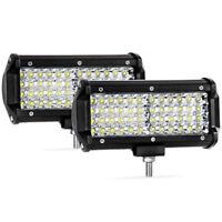 2x6.5'' Quad Row LED Light Bar 6000K – 6500K 9-30V 14400 Lumens IP68 Waterproof