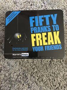 Marvin's Magic Fifty 50 pranks to Freak Your Friends Practical Joke & Trick Set