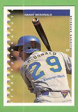 1995 AUSTRALIAN BASEBALL CARD #35  GRANT McDONALD, BRISBANE BANDITS