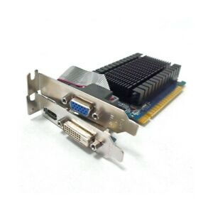 Graphics Card Nvidia Geforce Gt 710 1GB GDDR3 Video Card Low Profile