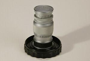 Leica / Leitz Elmar 9cm ƒ4 LTM, faultless lens, clean bright and no user marks.