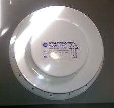 *NEW* Active Ventilation Products Inc.Camper Trailer Circle Roof Vent White 10""
