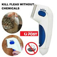 Electric Dog Cat  Flea Comb Flea Killer Zapper Comb  Pet Tick Eliminator Remidy