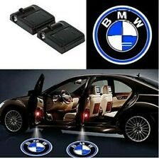 2 Pcs WIRELESS LED Car Door Logo Projector Courtesy Ghost Puddle Light Fits BMWs