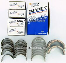 SB Chevy 350 Clevite 77 H Series Connecting Rods .010 and Main Bearing Combo Std