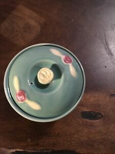 Coors Pottery Bowl with Lid