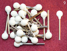 "25 pcs 5/16"" Ball Felt Wool Polishing 1/8 shank bit Dremel's or Rotary Tools"