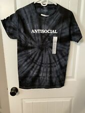 Spencers - Tie Dye- Antisocial Tee Shirt Size Small
