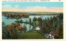 A View of Otter Lake From the Hotel, Otter Lake NY