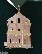 The Pink House Cape May Nj Or020 Shelia's 3D Historical Ornament