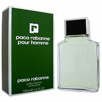 Paco Rabanne Pour Homme Aftershave Lotion For Men 100ml 3.4oz