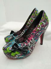 Iron Fist Bloody Mess Retired Monster Horror Heels Size 8