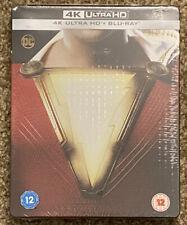 Shazam! 4K Ultra HD 2D Blu-ray Limited Edition Steelbook New