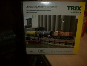 Minitrix 11136 Startpackung Moderner Güterverkehr  Diesellok Mak mit DSS+Ovp.TOP