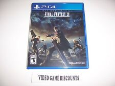 Original Box Case Replacement Sony PlayStation 4 PS4 FINAL FANTASY XV