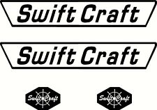 Swift Craft Set, Fishing Boat Sticker Decal Marine Set of 4