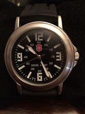 Victorinox Swiss Army Men's Rubber Strap Watch