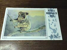 CINDERELLA: 1990 KOALA RESEARCH $6.00  SHEETLET  MUH