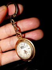 sols SARlino Anhänger Mechanisch Handaufzug Kugel Uhr vergoldet Taschenuhr