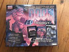 SEALED Doom Trilogy Depths Collector Big Box Ultimate 1 2 Master Levels Manual