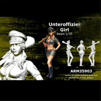 1/35 Female Soldier Resin Kits Unpainted WW2 Figure Model GK