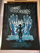 Edward Scissorhands 2011 N.E. New Flesh art print signed and #/50