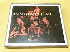 COFFRET 2 CD / THE CLASH THE STORY OF / CBS 460244 2 / AUSTRIA 1988 punk rock NM