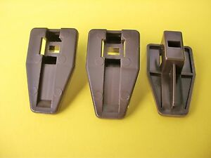3 Kenlin Rite-Trak I i 1 II ii Dresser Drawer Replacement Stop Guide Case Runner