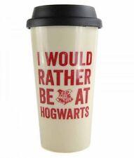 Harry Potter I WOULD RATHER BE AT HOGWARTS TRAVEL MUG Plastic 450ml