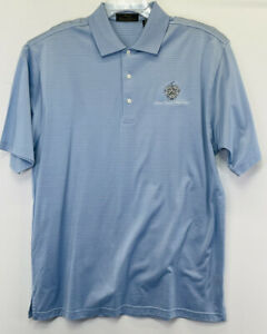 Donald J. Trump Signature Collection Mens Large Striped Polo Shirt NW/OTs (V24)