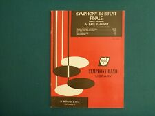 Paul Fauchet - Sym. in Bb: Finale - Full Score - New