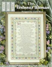 The Virtuous Woman Linda Bird Design Connection #121 Cross Stitch Pattern NEW