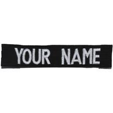 Custom RipStop Name Tape - Black