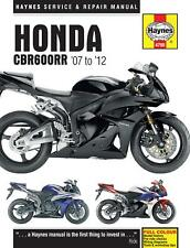 HAYNES MANUALS MANUAL HONDA CBR600RR M4795 SHOP MANUALS & VIDEOS
