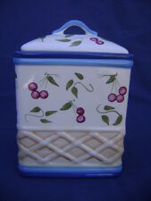 Inspirado Stonelike Clay Hand Painted Large Cookie Jar Kitchen Canister