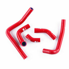 Red Coolant Pipe Silicone Hose kit For Honda CR250R CR250 2003-2008 03-08