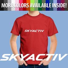 Skyactiv Mazda 3 6 Miata MX5 Mazdaspeed Auto Cars Kids Tee Children's T-Shirt