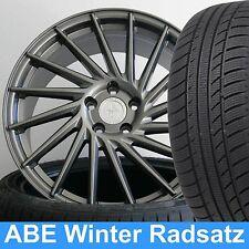 """18"""" ABE KT17 Grey 225/40 Winter Reifen Radsatz für MB C-Klasse Coupe 204 W204"""