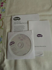 BENQ G70 Series LCD Monitor User Manual & CD Drivers Acrobat Reader Start Guide