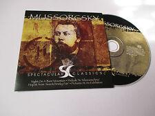 CD Série Spectaculars Classics - Mussorgsky (pochette cartonnée)