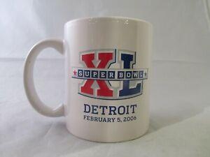 Super Bowl XL (40) Detroit 2006 AFC Champion Pittsburgh Steelers Ceramic Mug