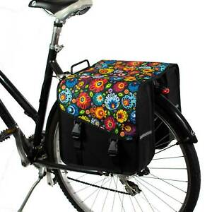 BikyBag Classic CS - Bicycle Double Pannier Bag Cycle Bike Shopping
