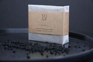 KAFFEESEIFE,  Handgemachte Peelingseife, coffee soap, vegan, seife 100g